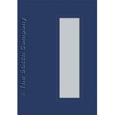 3 cards with envelope, dark blue