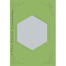 3 cards with envelope, olive green