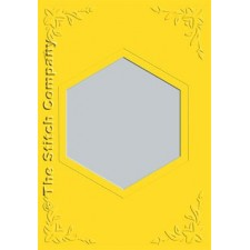 3 cards with envelope, sunflower yellow