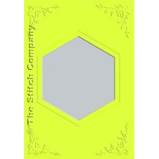 3 cards with envelope, lime