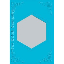 3 cards with envelope, ocean blue