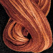 Valdani 6 ply strengen: Rusted Orange