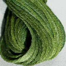 Valdani 6 ply strengen: Withered Green