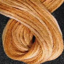 Valdani 6 ply strengen: Washed Orange