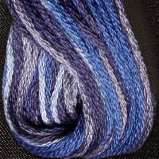 Valdani 6 ply strengen: Demin Blues
