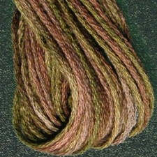 Valdani 6 ply strengen: Dried Leaves