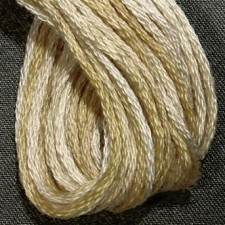 Valdani 6 ply strengen: Wheatered Hay