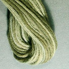 Valdani 6 ply strengen: Faded Olive