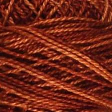 Valdani Pearl #5 balls: Rusted Orange