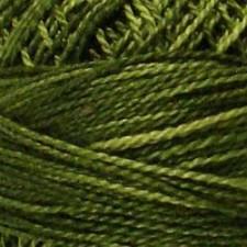 Valdani Pearl #5 balls: Withered Green