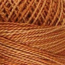 Valdani Pearl #5 balls: Washed Orange