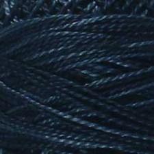 Valdani Pearl #5 balls: Darkened Blue