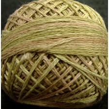 Valdani Pearl #5 balls: Spring Leaves