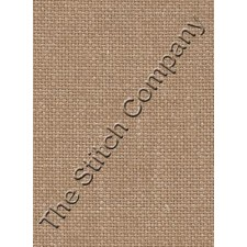Zweigart 28 ct linen, Light Mocha