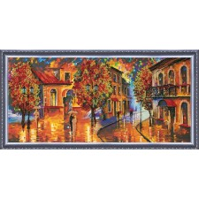 Bead Embroidery kit October Colours - Abris Art