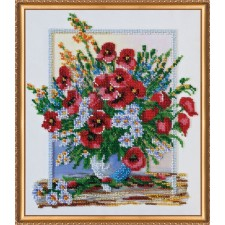 Bead Embroidery kit Summer Aroma-3