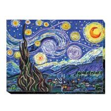 Bead Embroidery kit Starlight Night - Abris Art