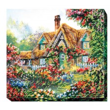 Bead Embroidery kit Home Sweet Home - Abris Art