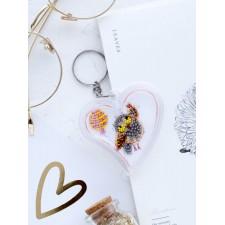 Bead Embroidery kit Smile - Abris Art