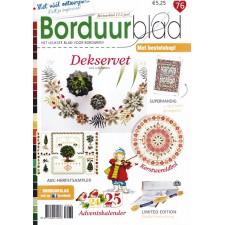 Borduurblad 76 oktober-november 2016