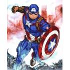Marvel Avengers Cap in Action