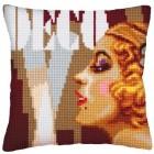 Kussenpakket Art Deco vrouw - Art Deco II