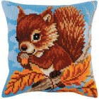 Kussenpakket Eekhoorn met noot - Squirrel with a Nut