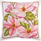 Kussenborduurpakket Roze Magnolia - Pink magnolia