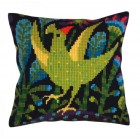 Cushion cross stitch kit Serenade - Collection d'Art