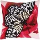 Kussenborduurpakket Grafische Vlinder - Butterfly graphics