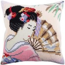 Kussenpakket Mooie Japanse Dame - Beautiful Japanese