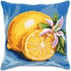 Kussenborduurpakket Citroenen - Mature lemon