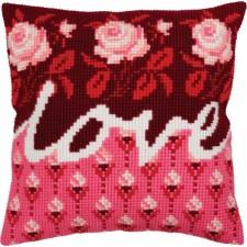 Kussenborduurpakket Liefde - Love
