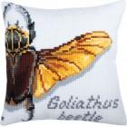 Kussenborduurpakket Reuzenkever - Goliathus beetle