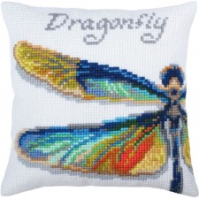 Kussenborduurpakket Libelle - Dragonfly