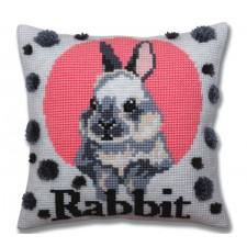 Kussenborduupakket Konijn - Rabbit - Collection d'Art