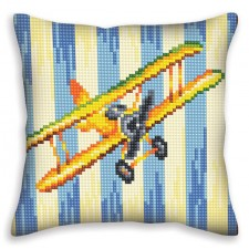 Cushion cross stitch kit Nostalgia - Collection d'Art