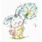 Borduurpakket Bunny and dandelion