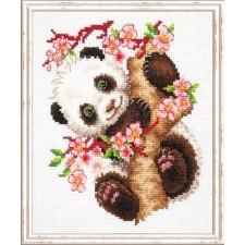 Borduurpakket Panda