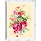 Cross stitch kit Pomegranate