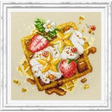 Borduurpakket Weense Wafels - Viennese Waffles
