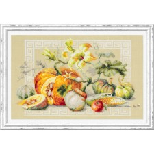 Cross stitch kit Pumpkin Fest