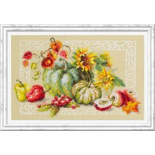Cross stitch kit Autumn Gifts