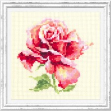 Borduurpakket Mooie Roos - Beautiful Rose