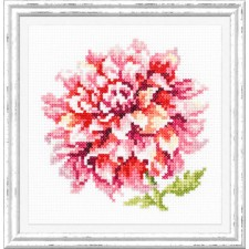Cross stitch kit Dahlia