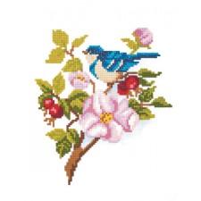 Diamond Painting Blauwe vogel - Blue Bird