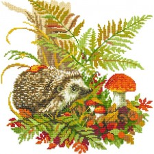 Diamond Painting Egel in bos - Hedgehog in the Forest