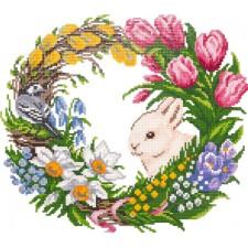 Diamond Painting Bloeiende Lente - Spring in Bloom - Freyja Crystal