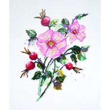 Diamond Painting Wilde roos - Wild Rose