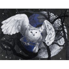 Diamond Painting Uil in vlucht - Flying Owl